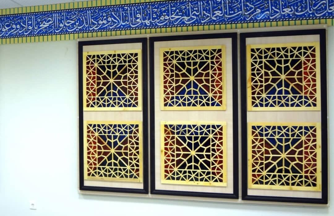 دیوار پوش مساجد