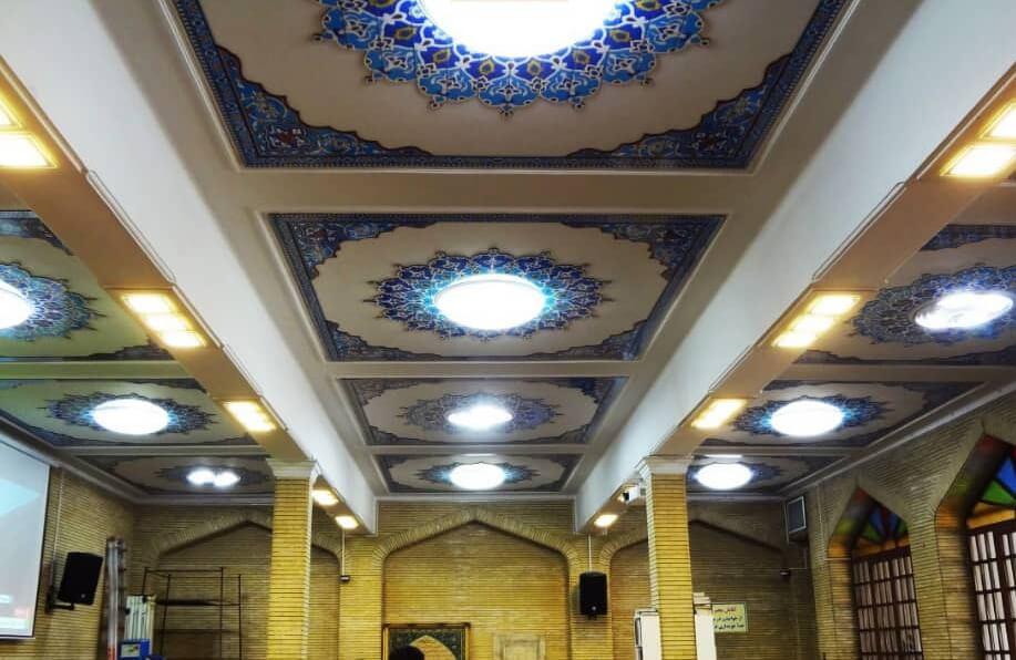 نورپردازی مسجد