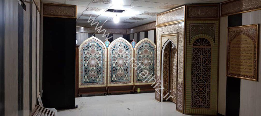 پروژه های انجام شده نمازخانه